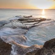 Lever de soleil sur l'Océan Indien
