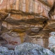 Grotte de Stadsaal: peintures San