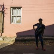 Le Cap: Quartier malais de Bo-Kaap
