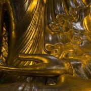 Détail de bouddha