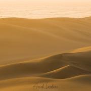 Swakopmund: Dunes de sable fin au coucher de soleil