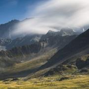 Nuages sur les sommets