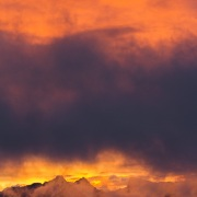 Préalpes fribourgeoises au lever de soleil