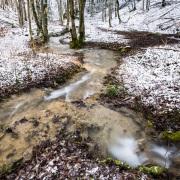 Ferreyres sous la neige