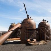 Restes de station baleinière sur l'ile de la Déception