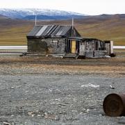Cabane de chasseurs, ile de Wrangel