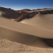 Vallée de la lune à proximité de San Pedro de Atacama