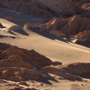Vallée de la mort à proximité de San Pedro de Atacama
