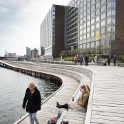 Promenade sur les quais, Copenhague