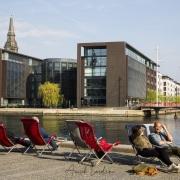 Un bel après midi de printemps, Copenhague