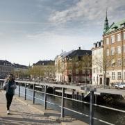 Le long des canaux, Copenhague
