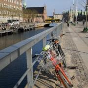 En longeant un canal, Copenhague