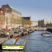 Sur les canaux, Copenhague