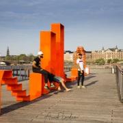 Espace ludique sur Kalvebod Bølge, Copenhague