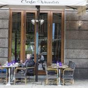 Terrasse du café Vivaldi