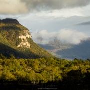 Eclairaage de fin de journée sur le grand Colombier