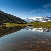 Petit lac d'atitude, Savoie