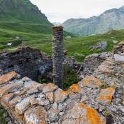 Ruines dans un alpage, Savoie