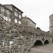 Village de Saint Laurent sous Coiron: église