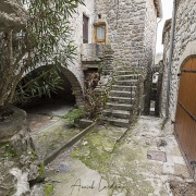Village de Vogüé: rue des puces