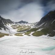 Lac sans fond, col du Petit Saint-Bernard