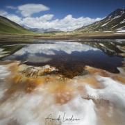 Lac au col du Petit Saint Bernard