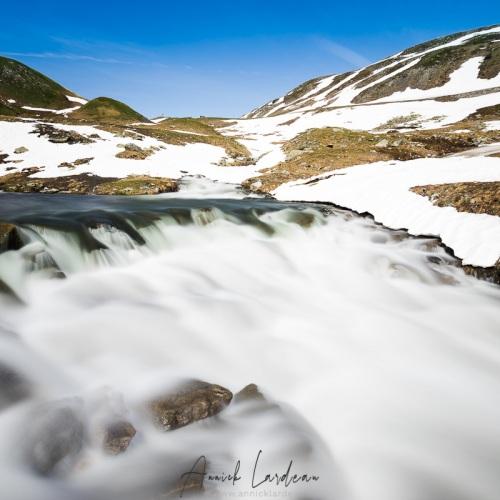 Torrent de montagne, Savoie