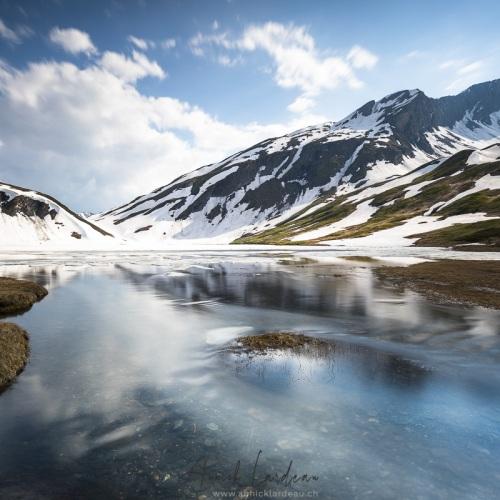 Lac Verney, Col du Petit Saint Bernard, Italie