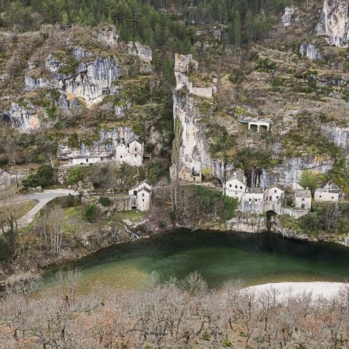 Gorges du Tarn: Castelbouc
