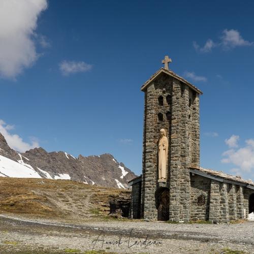 Notre-Dame de Toute Prudence, col de l'Iseran, Savoie