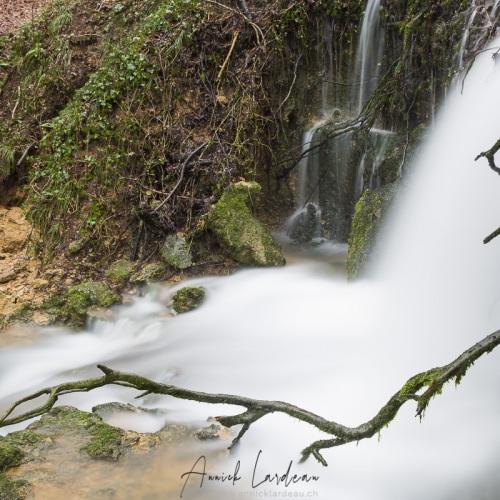 Franche Comté: Cascade des tufs