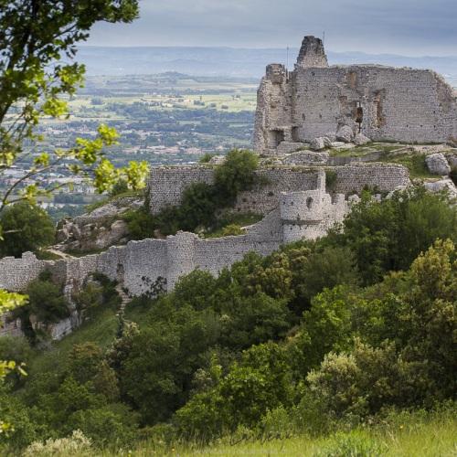 Château de Crussol, Ardèche