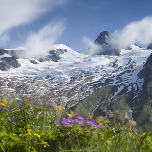 Aiguille des Glaciers, vallée des glaciers