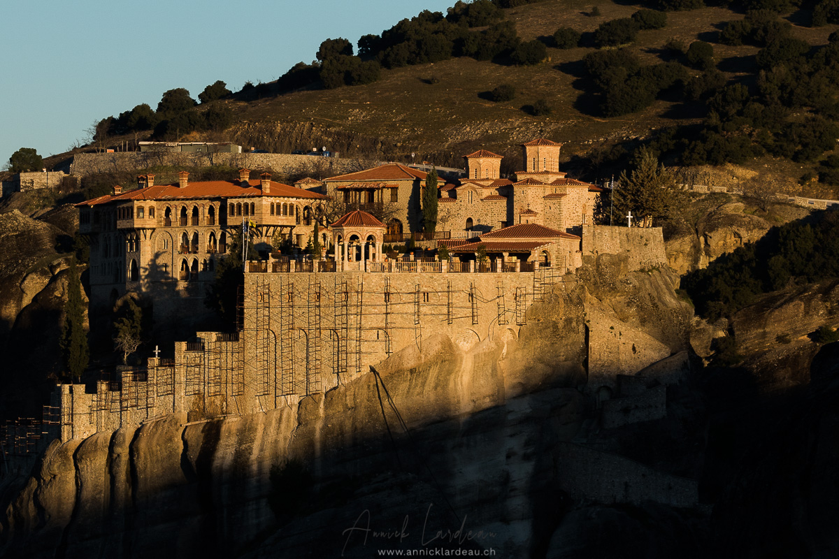 monastère de Grand Météore, Météores