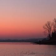 Le jour se lève sur le lac Kerkini