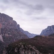 Lever du jour dans les Zagoria