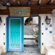 Portes d'entrée colorée danas les Zagoria
