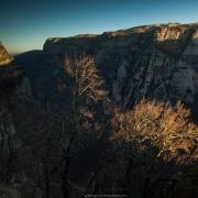 Gorges de Vikos: lever de soleil