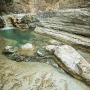 Cascade dans les gorges à proximité de Papingo