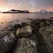 Coucher de soleil sur la mer, Nuuk