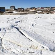 Village d'Ilimanaq vu depuis le port gelé