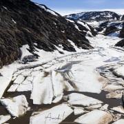 Port d'Ilulissat, débacle