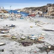 Port d'Ilulissat dans la glace