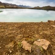 Lac volcanique, Seltun