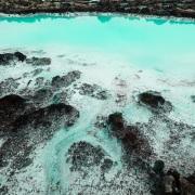 Lagon bleu,  presqu'île de Reykjanes