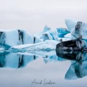 Icebergs dans la lagune, Jökulsárlón