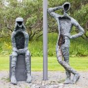 Reykjavik: sculptures
