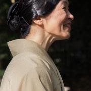Portrait d'une japonaise