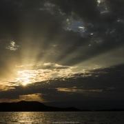 Lever de soleil sur le lac Baringo