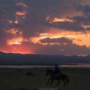 Plateau de Son Kul: coucher de soleil